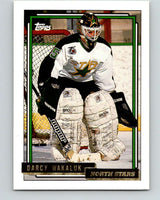 1992-93 Topps Gold #108G Darcy Wakaluk Mint Minnesota North Stars