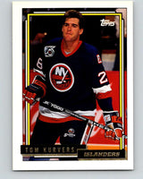 1992-93 Topps Gold #118G Tom Kurvers Mint New York Islanders