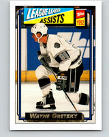1992-93 Topps Gold #123G Wayne Gretzky LL Mint Los Angeles Kings