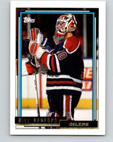 1992-93 Topps Gold #126G Bill Ranford Mint Edmonton Oilers