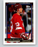 1992-93 Topps Gold #129G Kevin Miller Mint Detroit Red Wings