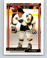 1992-93 Topps Gold #134G Craig Janney Mint St. Louis Blues