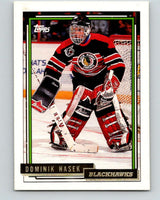 1992-93 Topps Gold #136G Dominik Hasek Mint Chicago Blackhawks