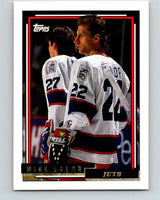 1992-93 Topps Gold #140G Mike Lalor Mint Winnipeg Jets