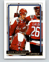 1992-93 Topps Gold #149G Kevin Hatcher Mint Washington Capitals