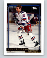 1992-93 Topps Gold #153G Jan Erixon Mint New York Rangers