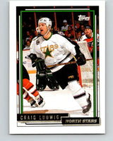 1992-93 Topps Gold #154G Craig Ludwig Mint Minnesota North Stars