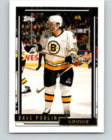 1992-93 Topps Gold #155G Dave Poulin Mint Boston Bruins