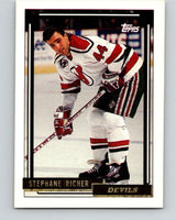1992-93 Topps Gold #160G Stephane Richer Mint New Jersey Devils