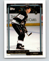 1992-93 Topps Gold #161G Brent Thompson Mint Los Angeles Kings
