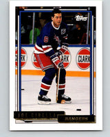 1992-93 Topps Gold #163G Joe Cirella Mint New York Rangers