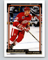 1992-93 Topps Gold #165G Vladimir Konstantinov Mint Detroit Red Wings