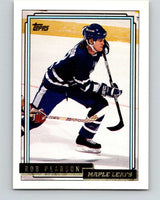1992-93 Topps Gold #168G Rob Pearson Mint Toronto Maple Leafs