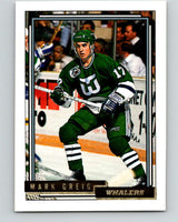 1992-93 Topps Gold #175G Mark Greig Mint Hartford Whalers