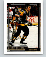 1992-93 Topps Gold #176G Gordie Roberts Mint Pittsburgh Penguins