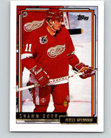 1992-93 Topps Gold #178G Shawn Burr Mint Detroit Red Wings