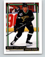 1992-93 Topps Gold #179G Marc Bureau Mint Minnesota North Stars