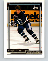 1992-93 Topps Gold #181G Robert Cimetta Mint Toronto Maple Leafs