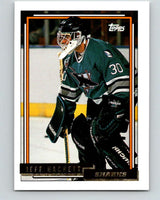 1992-93 Topps Gold #185G Jeff Hackett Mint San Jose Sharks