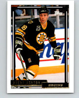 1992-93 Topps Gold #191G Brent Ashton Mint Boston Bruins