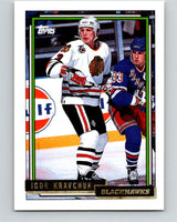 1992-93 Topps Gold #200G Igor Kravchuk Mint Chicago Blackhawks