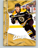 2018-19 Upper Deck MVP Star Formations Rookie Ryan Donato NHL 07754