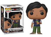 Funko Pop - 781 The Big Bang Theory - Raj Koothrappali Vinyl Figure