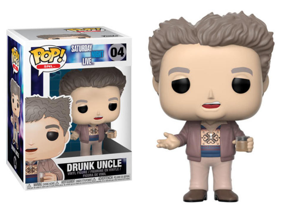 Funko Pop - 04 TV Saturday Night Live - Drunk Uncle Vinyl Figure