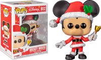 Funko Pop - 612 Disney - Mickey Mouse Christmas with Bell Vinyl Figure