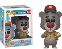 Funko Pop - 441 Disney Talespin - Baloo Vinyl Figure