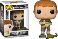 Funko Pop - 812 The Addams Family - Pugsley Addams with Alligator Vinyl Figure