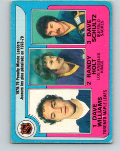 1979-80 O-Pee-Chee #4 Williams/Holt/Schultz NHL 10137
