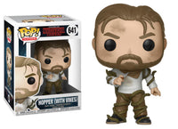 Funko Pop - 641 Television Stranger Things - Hopper (With Vines) Vinyl Figure