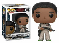 Funko Pop - 548 Television Stranger Things - Ghostbuster Lucas Vinyl Figure