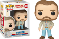 Funko Pop - 801 Television Stranger Things - Hopper (Blue Pants) Vinyl Figure