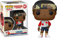Funko Pop - 807 Television Stranger Things - Lucas (Army Band) Vinyl Figure