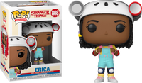 Funko Pop - 808 Television Stranger Things - Erica (With Hat) Vinyl Figure
