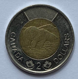 2012 Canadian $2 Coin Two Dollar Canada - Security *8035