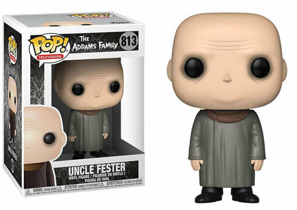 Funko Pop - 813 The Addams Family - Uncle Fester Vinyl Figure