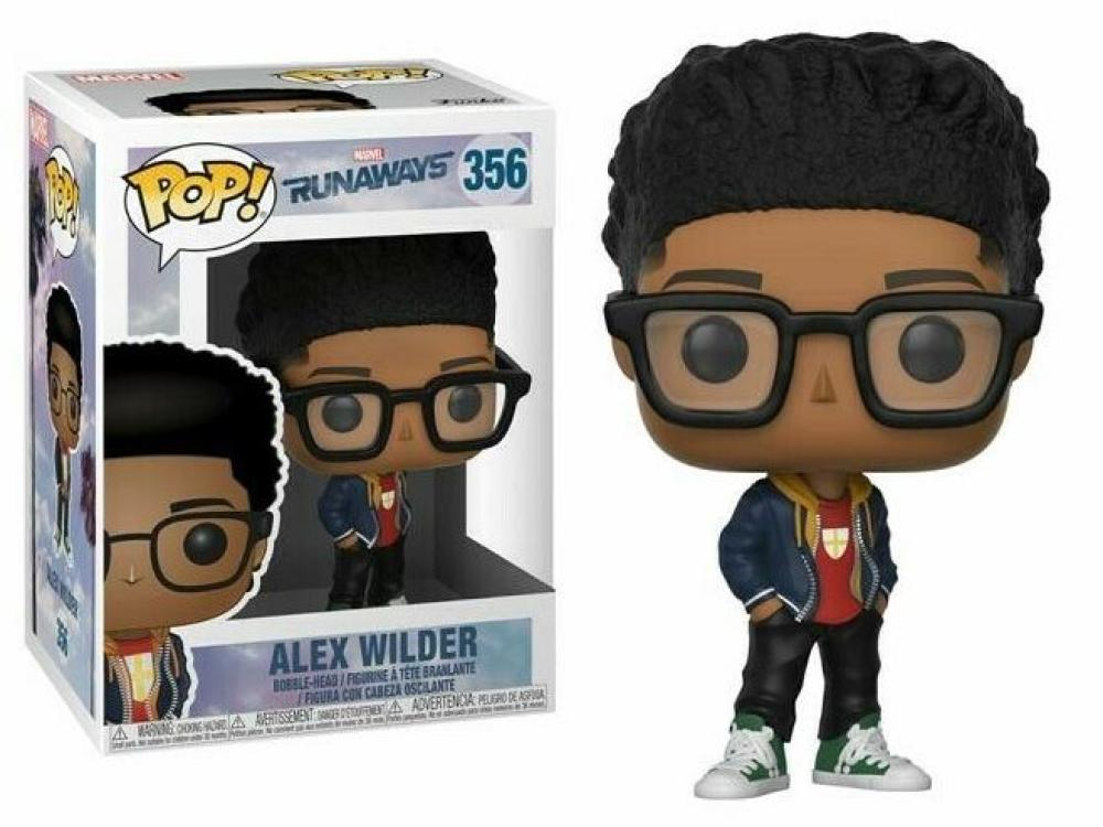 Funko Pop - 356 Marvel Runaways - Alex Wilder Vinyl Figure