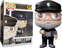 Funko Pop - 01 Icons Game of Thrones - George R.R. Martin Vinyl Figure
