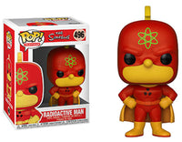 Funko Pop - 496 Television The Simpsons - Radioactive Man Vinyl Figure