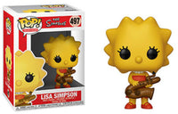 Funko Pop - 497 Television The Simpsons - Lisa Simpson Vinyl Figure