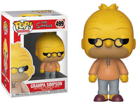 Funko Pop - 499 Television The Simpsons - Grampa Simpson Vinyl Figure