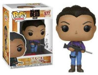 Funko Pop - 577 Television AMC The Walking Dead - Saha with Gun Vinyl Figure