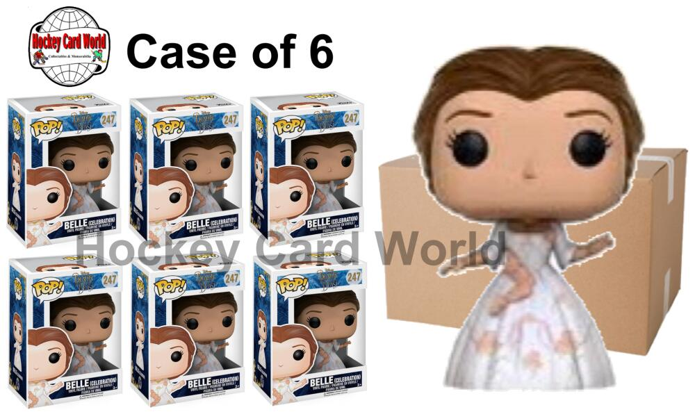 Funko Pop - 247 Disney - Belle (Celebration) Vinyl Figure - Case of 6