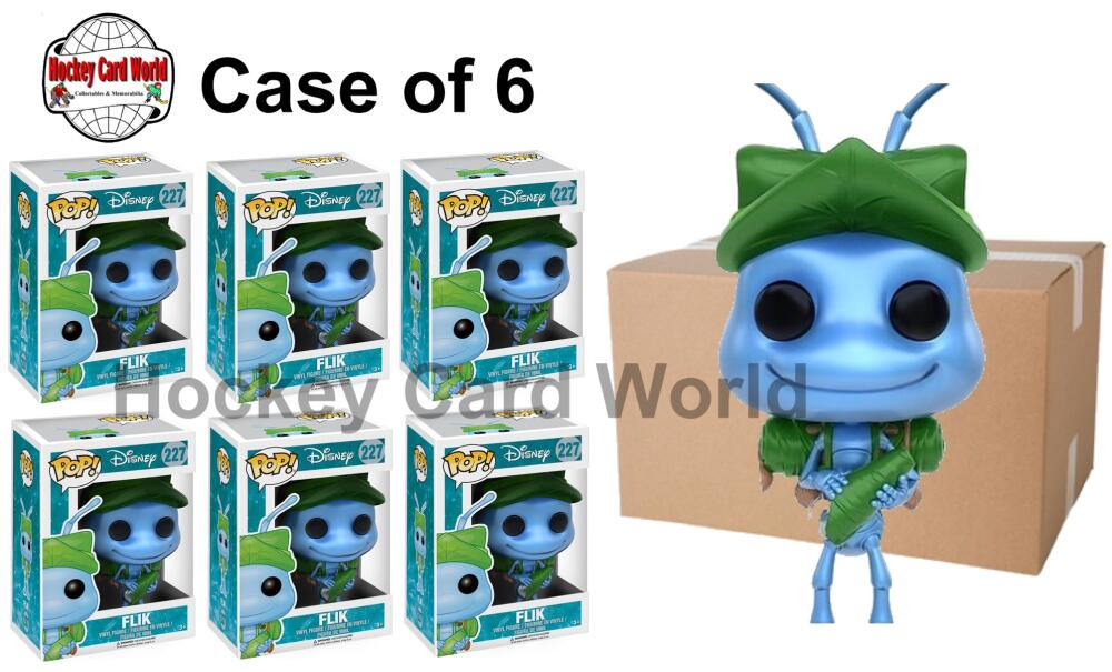 Funko Pop - 227 Disney A Bugs Life - Flik Vinyl Figure - Case of 6