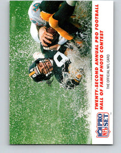 1990 Pro Set #790 Mike Mularkey Mint Pittsburgh Steelers