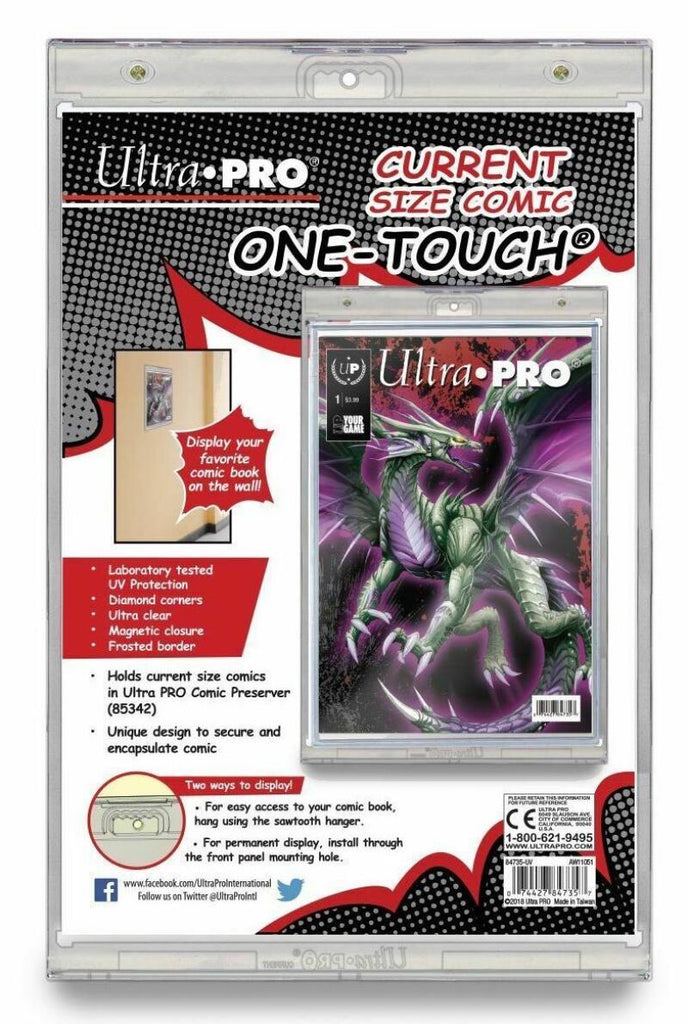 Ultra Pro 1Touch Comic Book UV Magnetic Holder One Touch Display