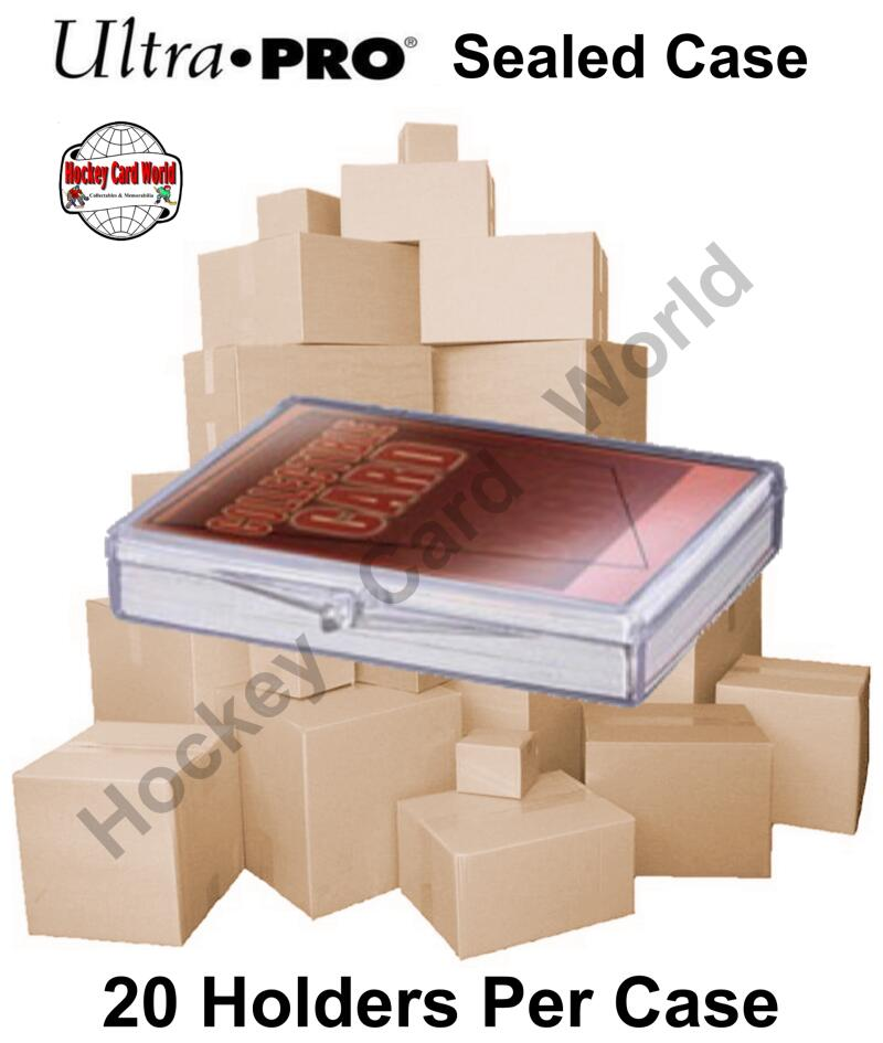 Ultra Pro Snap Box 25ct CASE - Hold up to 25 cards - 20 Boxes Per Case